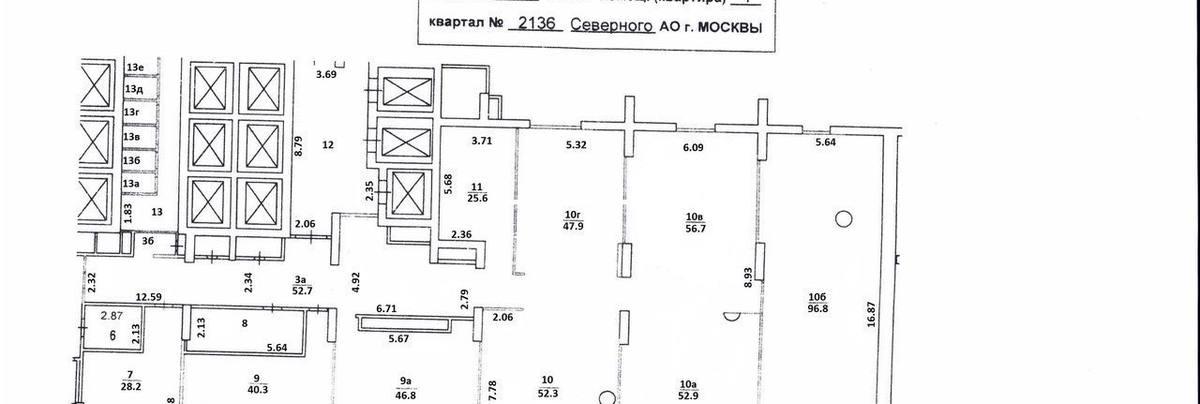 Помещение 65 м²
