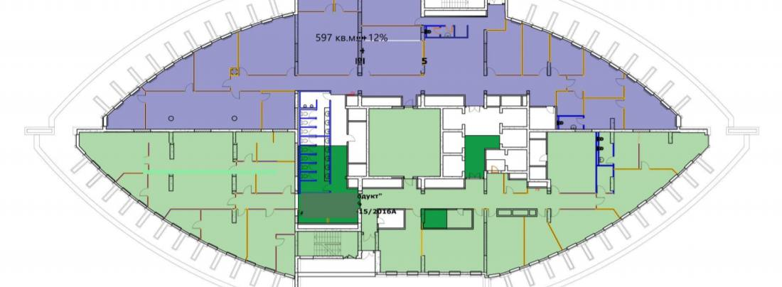 Помещение 667 м²