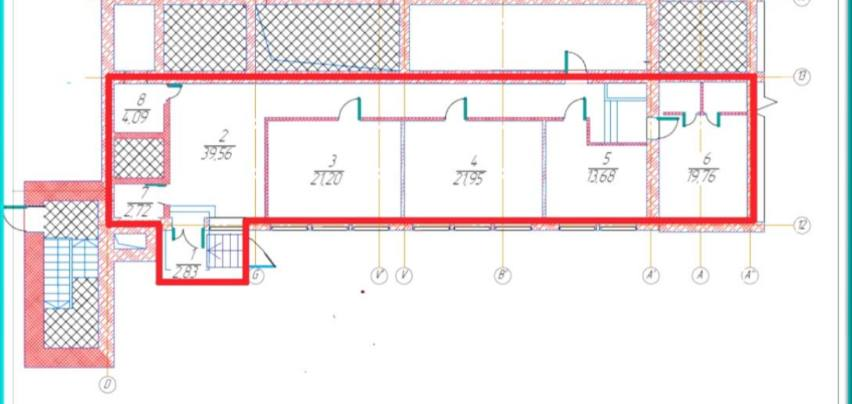 Помещение 125 м²