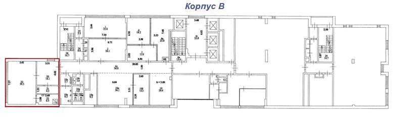 Помещение 72 м²
