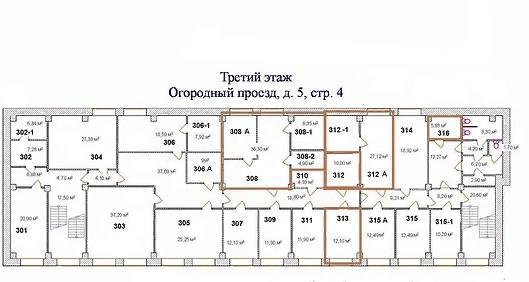 Помещение 9 м²