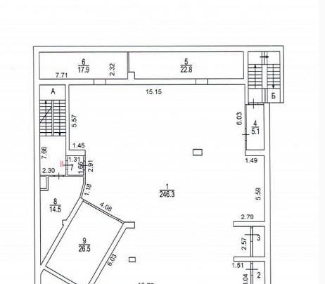 Офис 3 188 м²