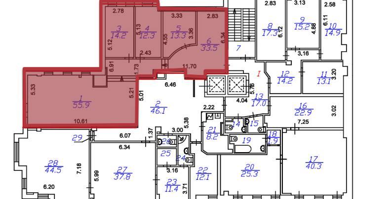 Офис, 129 м²