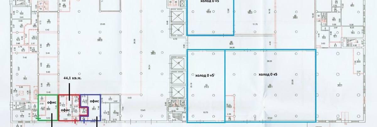 Офис, 44 м²