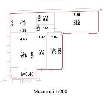 Помещение 107 м²