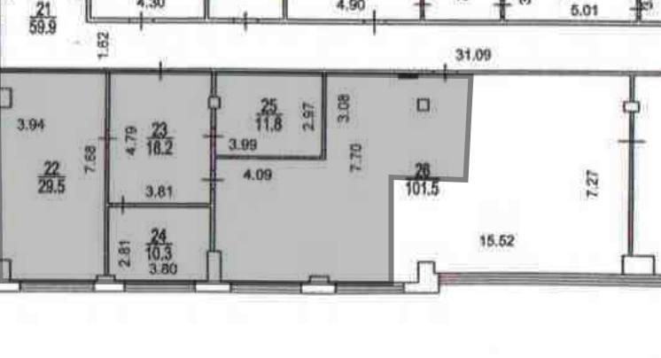 Помещение 124 м²