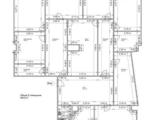 Офис 295 м²