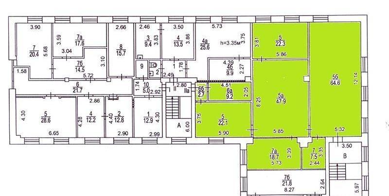 Офис, 162 м²