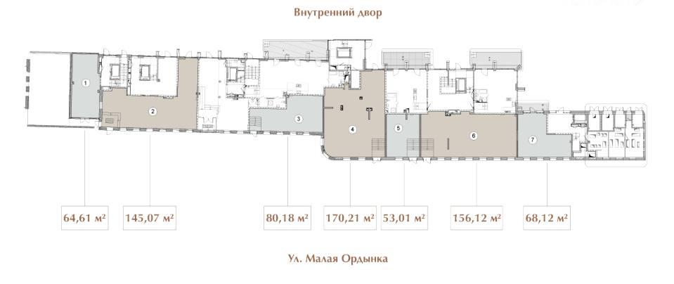 Помещение 170 м²