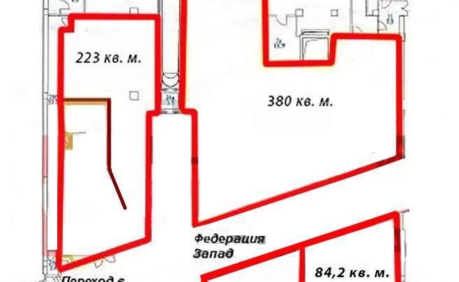 Помещение 223 м²