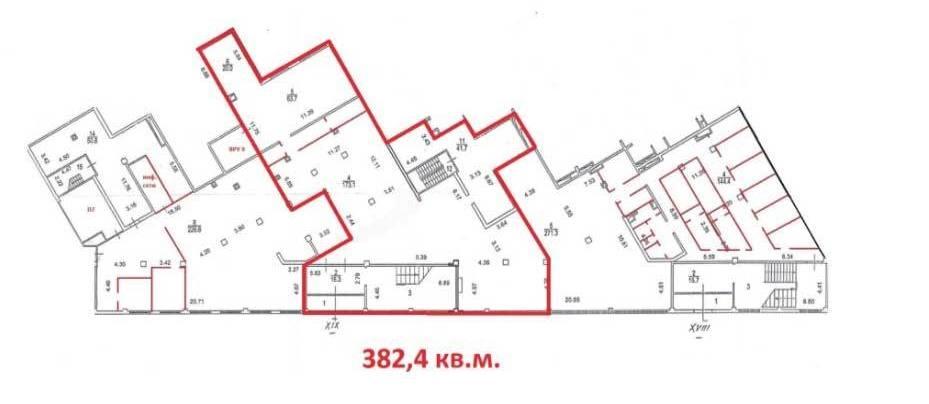 Помещение 1 115 м²