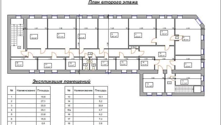 Офис 786 м²