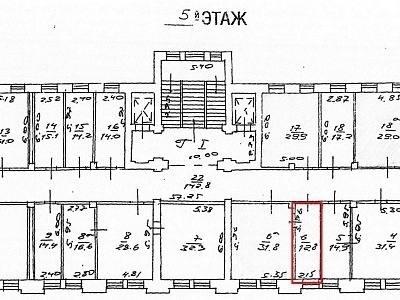 Помещение 13 м²