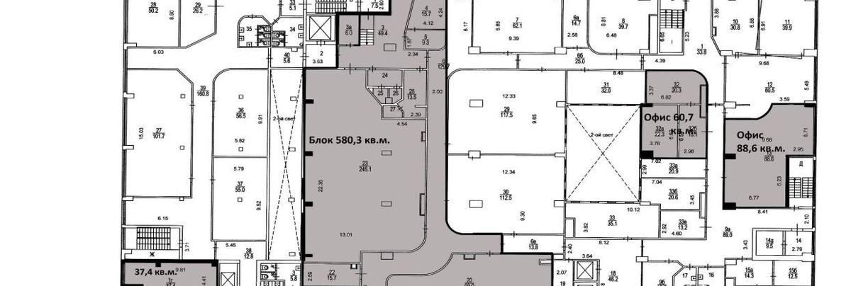 Офис, 60 м²