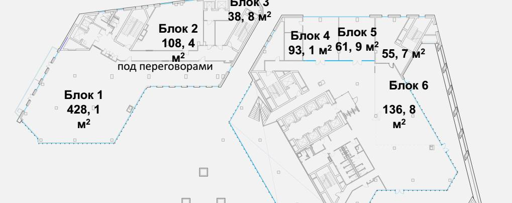 Ритейл, 61 м²