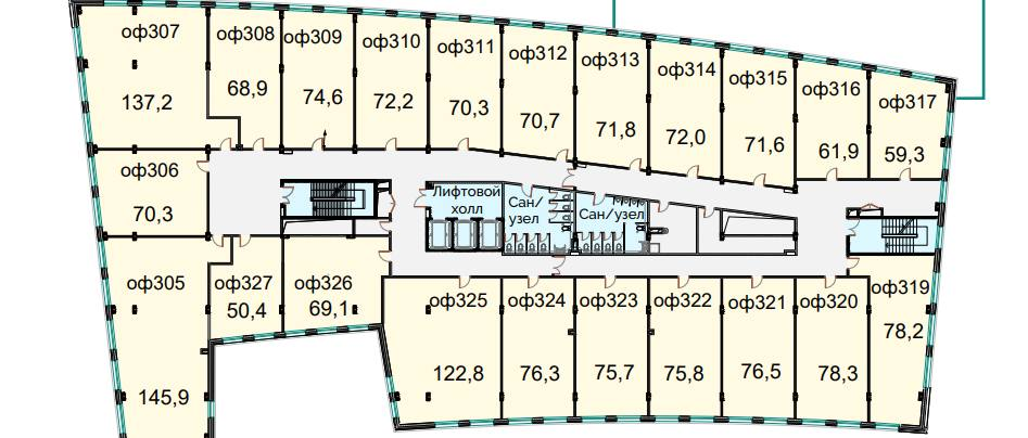 Помещение 1 749 м²