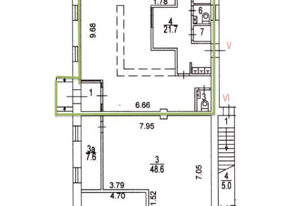 Помещение 105 м²