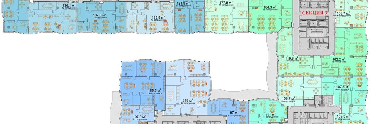 Офис, 5 196 м²