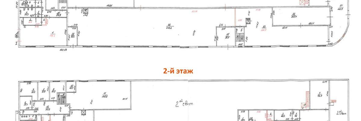 Помещение 3 124 м²