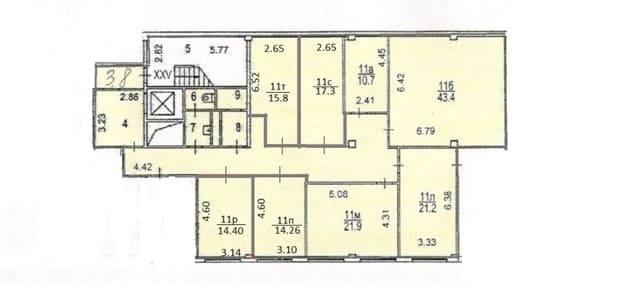 Помещение 216 м²