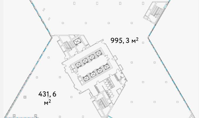 Офис, 1 426 м²