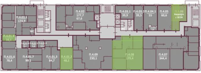 Помещение 179 м²