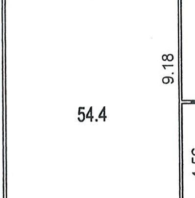 Помещение 54 м²