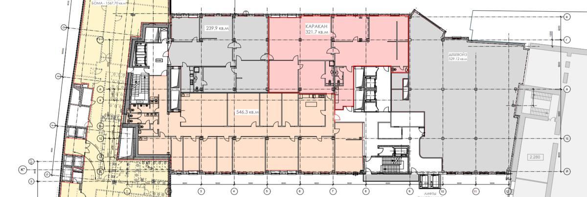 Помещение 529 м²