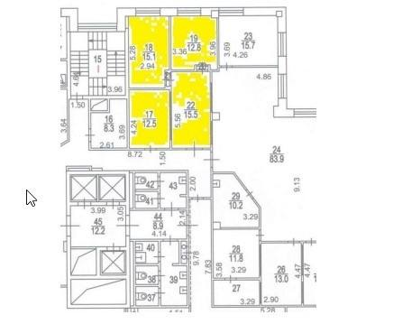 Помещение 61 м²