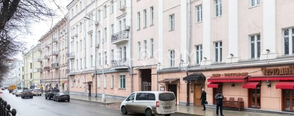 Жилой дом Гоголевский бул. 25,стр. 1