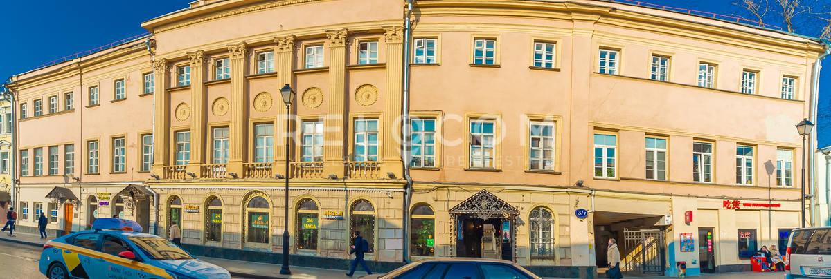 Административное здание Покровка ул. 3/7, стр. 1А.