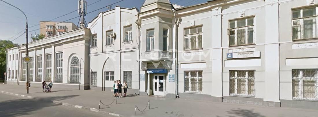 Административное здание Красноармейская ул. 4.