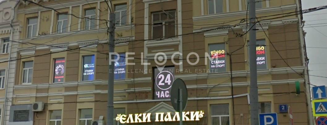 Административное здание Тверская Застава пл. 2, стр. 1.