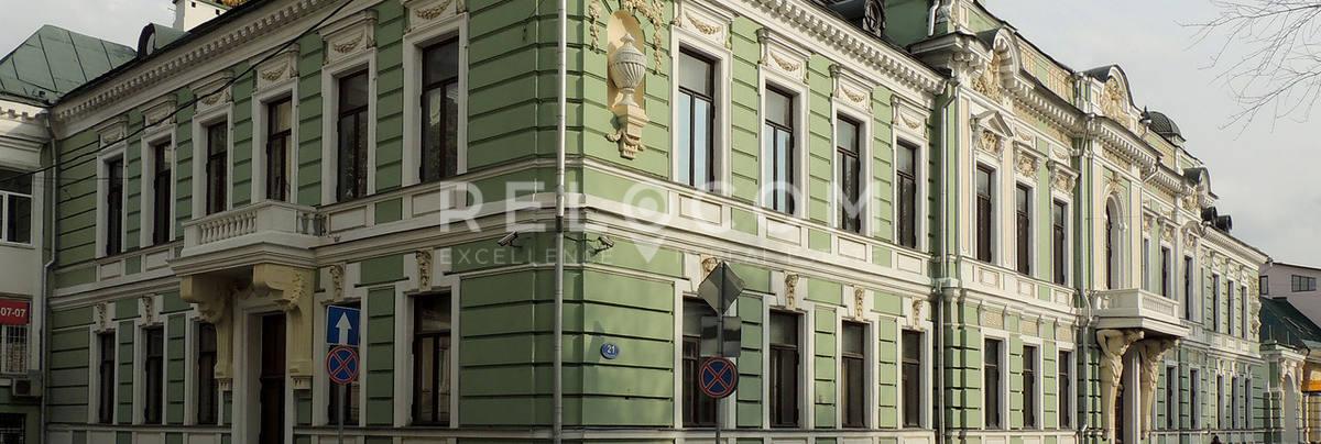 Административное здание Подсосенский пер. 21, стр. 1.