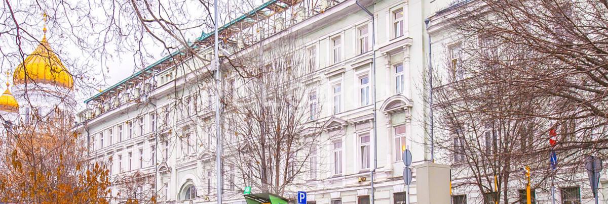 Офисное здание Пречистенская наб., 45 стр. 1