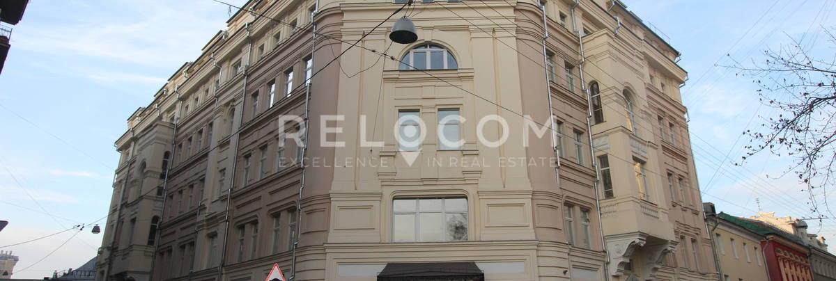 Административное здание Милютинский 13