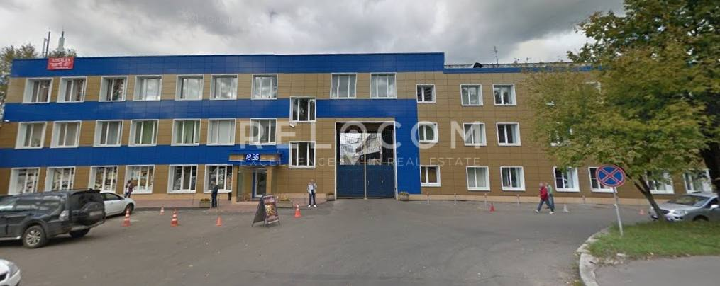 Административное здание Амурская ул. 7, стр. 4.