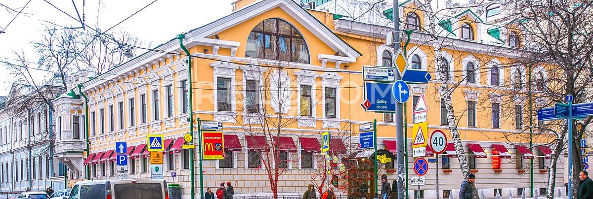 Административное здание Чистопрудный б-р 5.