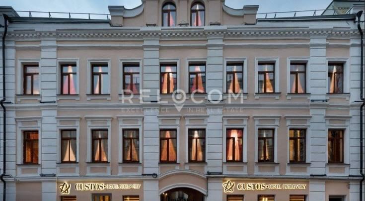 Административное здание Петровский б-р 9/1.