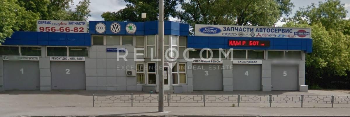 Административное здание Шереметьевская ул. 41, стр. 1.