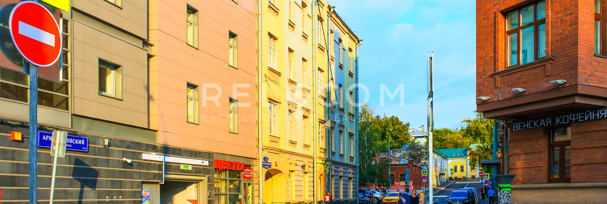Административное здание Аристарховский пер. 3, стр. 1.