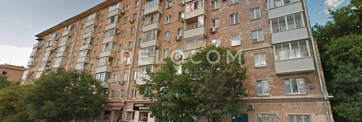 Жилой дом Новодевичий 4