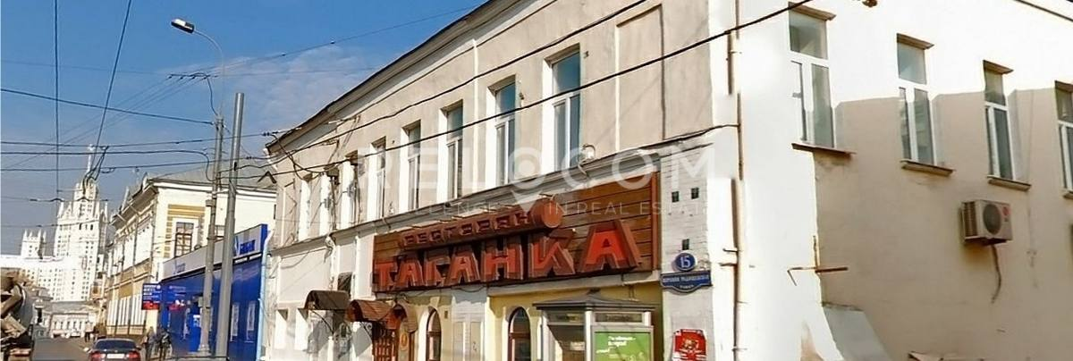 Административное здание Верхняя Радищевская ул. 15, стр. 1.