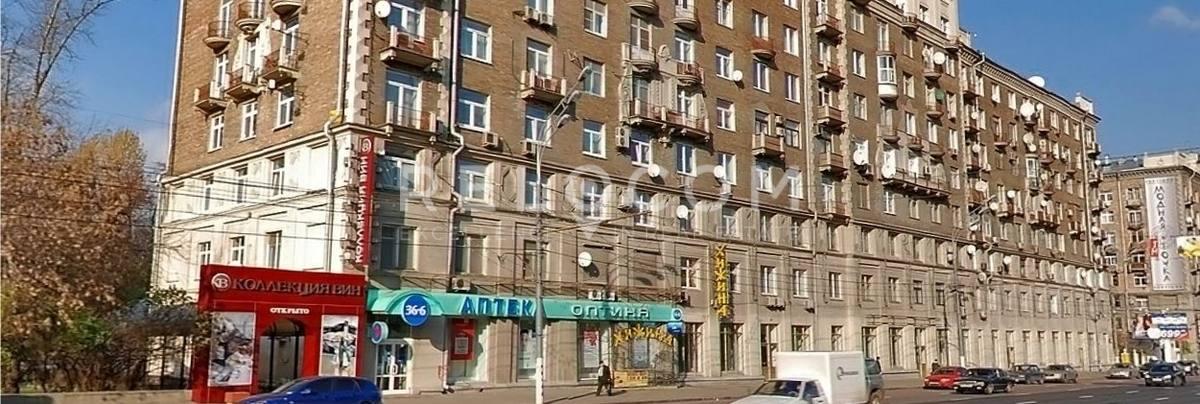 Жилой дом Ленинский пр-т 16.