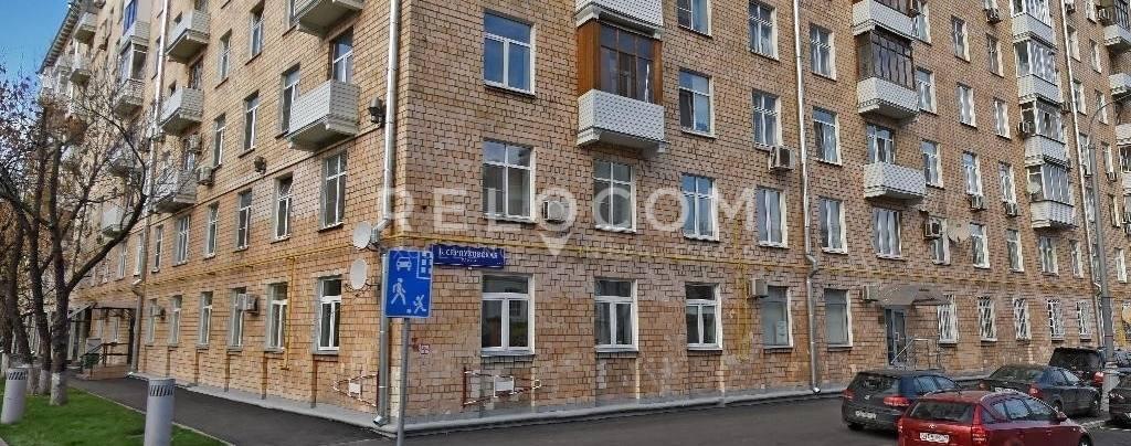 Жилой дом Люсиновская ул. 55.