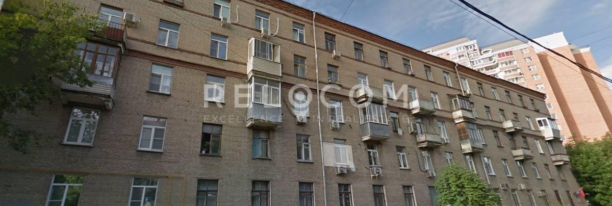 Жилой дом Нагатинская ул. 25