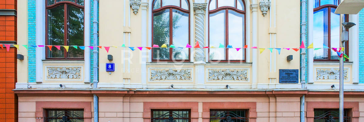 Административное здание Средний Овчинниковский 8