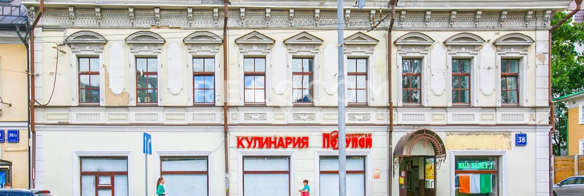 Административное здание Старая Басманная 38