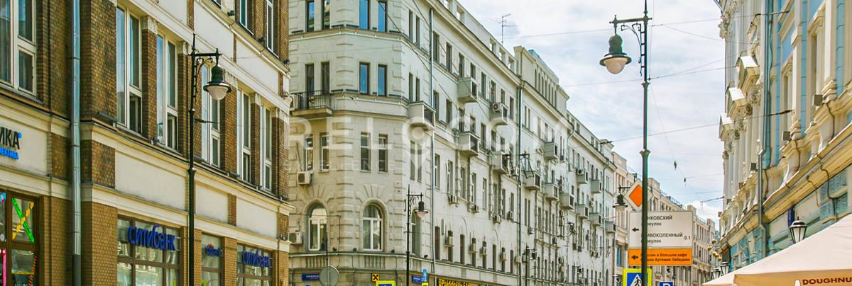 Административное здание Мясницкая ул. 22.