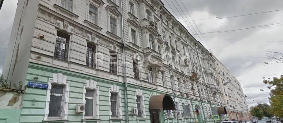 Административное здание Армянский пер. 7.